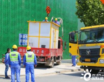 河南郑州:10小时紧急搭建临时供气站 4000余户居民恢复用气