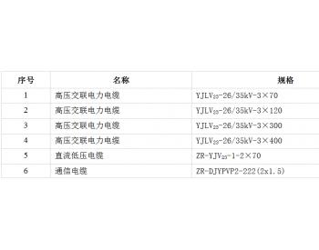 招标|中广核铁锋祥鹤100MW平价<em>光伏项目</em>电缆设备采购招标公告