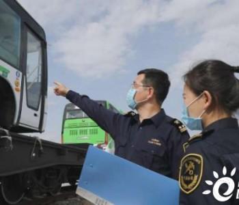 30辆新能源客车从新疆霍尔果斯口岸出口哈萨克斯坦