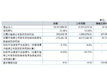 中嘉实业2019年净利39.20万增长107.9%工业污水零排放产品订单增加