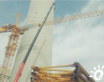中电工程新疆哈密50MW<em>光热发电示范项目</em>超高型D800-42塔吊顺利拆除