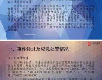 """宁夏某风电场""""3.25""""<em>风机倒塌</em>事件调查处理情况的报告"""