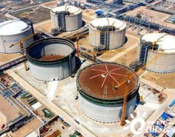 多项国内首次!董家口山东LNG二期工程项目第一座储罐顺利升顶