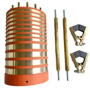 比尔德电机集电环碳刷导电滑环用于浮吊船