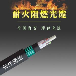 安徽湖北北京非金属耐火阻燃GJFZY53-FR同轴光缆厂家