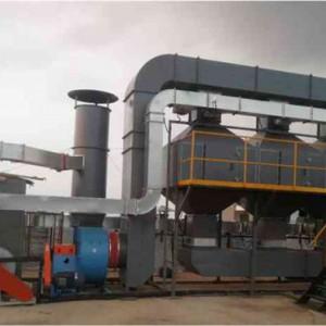 催化燃烧装置_废气轻松解决选择欣恒工程设备 达标排放