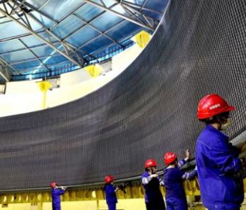 世界最大單機百萬千瓦水輪機組定子疊片安裝結束