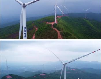 投资4.86亿元!广西贵港这个风电场竣工投产啦