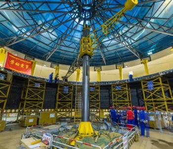 世界首臺百萬千瓦水電機組定子鐵心一次性通過磁化試驗