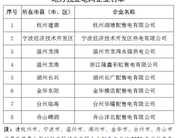 浙江能源局:6月11日前申报2020年竞价项目