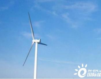 江西横峰麒麟峰50.6MW风电项目23台风机吊装完成