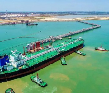 中交集團承建的全國最大石化港口建成投用