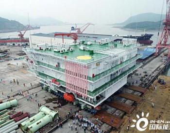 浙江嘉兴1号<em>海上</em>风电<em>升压站</em>4000吨设备组块完成装运