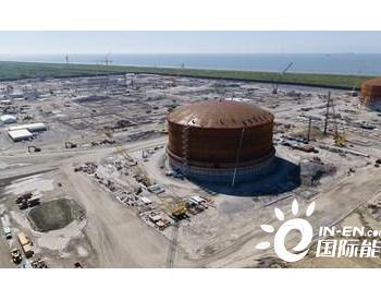 Venture Global卡尔克苏通道宣布第二个<em>LNG</em>储罐成功升顶
