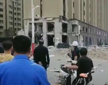 内蒙古开鲁县一回迁小区<em>燃气</em>爆炸 5人受伤