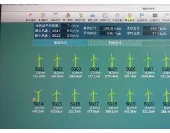 <em>国电</em>云南新能源公司洒谷风电场全部25台风机成功并网发电