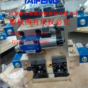 剪板机液压系统qc12y-12×3200cv