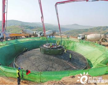 山西建投安装集团蒲县远天克城五十兆瓦风电项目复工
