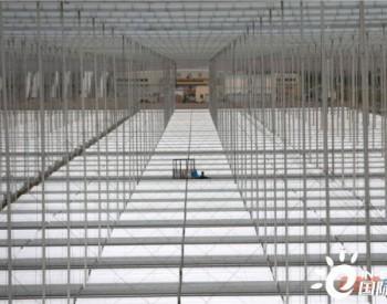 壮观!最新实拍敦煌50MW菲涅尔光热发电示范项目建设现场