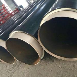 直埋保温钢管 黑夹克保温钢管 聚氨酯保温钢管 实体厂家