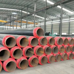 直供 直埋保温管 聚氨酯保温管 厂家 亿擎管道