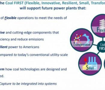 """美国能源部拨款8100万美元研究""""<em>煤炭FIRST</em>""""项目"""