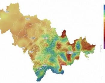 地图 | 吉林省<em>风能资源</em>分布图