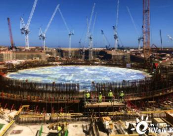 英国HPC核电项目按期完成2号机组核岛筏基混凝土浇筑