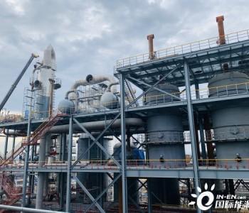 中国化学工程完成湖北三宁乙二醇项目全部大型设备吊装工作
