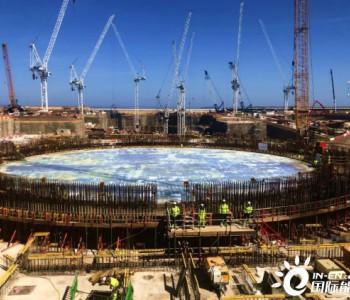 英国欣克利角C<em>核电</em>项目按期完成2号机组核岛筏基混凝土浇筑