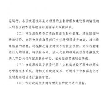 上海发布市级光伏<em>补贴</em>,20年、21年逐年递减