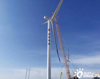 <em>青海</em>乌兰风电项目风机吊装工作圆满完成