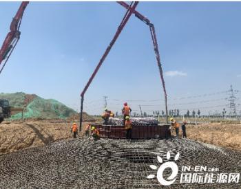60MW!龙源<em>电力</em>山东陈公堤二期项目首台风机基础浇筑完成