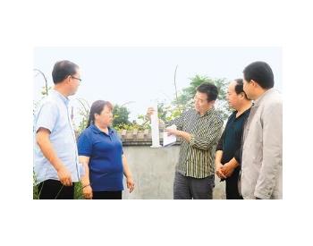 陕西西安周至县10个乡镇<em>污水处理站</em>改造竣工通过验收