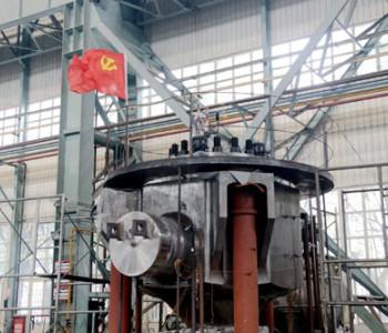 国内首台融合后华龙一号<em>核电</em>试验泵壳出产