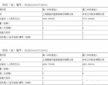 中标丨7738万!泰胜风能拿下<em>陕西</em>神木六期风电项目塔筒采购