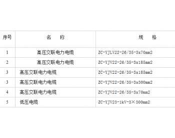 中国广核新能源公司2020年第六批<em>电缆</em>集中<em>采购</em>第一标段河南永城裴桥招标公告