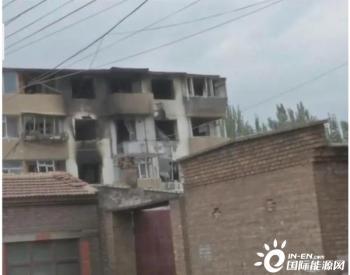 内蒙古呼和浩特市一小区天然气爆炸致2死3伤,伤者无生命危险