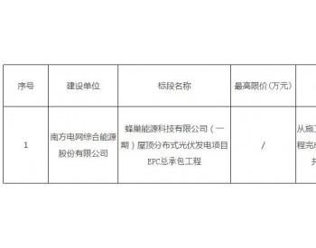 招标|蜂巢能源(一期)9.588MW江苏常州<em>屋顶分布式光伏</em>发电项目EPC总承包工程招标公告