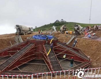 平均海拔3800米!四川首个试验性风电场项目首台风机基础顺利浇筑