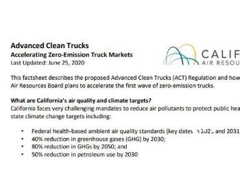 美国加州通过卡车零排放法规,中国氢能企业如何跟上市场节奏?