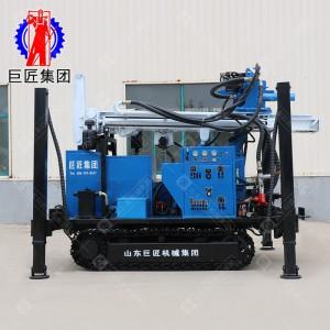 两用HBZ履带式钻机可环保建井和液压直推双管取样