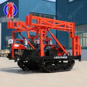 履带式沙金矿勘探勘 察钻机SH30-2D