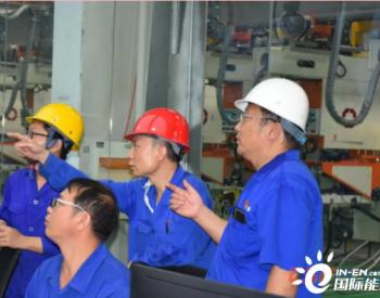 洛玻濮阳光材超白光热玻璃生产线一次性引板成功