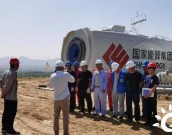 34MW!国电电力山东新能源山东大村项目完成首批风机吊装