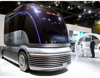 现代汽车氢燃料电池概念卡车HDC-6 NEPTUNE在韩首亮相