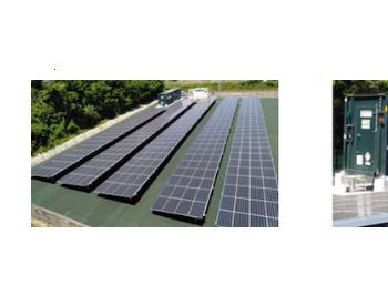 """京瓷实施""""太阳能x蓄电池""""的模式试验"""