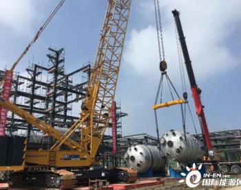 <em>石化</em>四建吊运公司完成<em>中沙</em>聚碳项目首件大件吊装任务