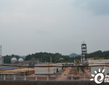 国内首个页岩气产出水处理工程中交验收