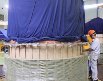 西电常变三峡江苏如东海上风电项目线圈绕制全面开始